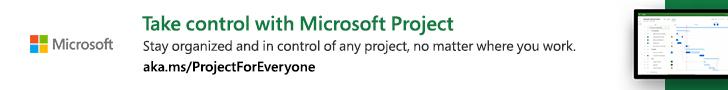 Sponsor banner ad: Microsoft